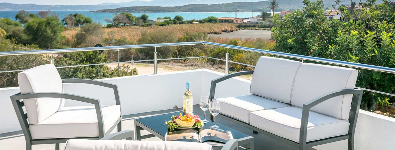 Bed & Breakfast with sea view in Sardinia